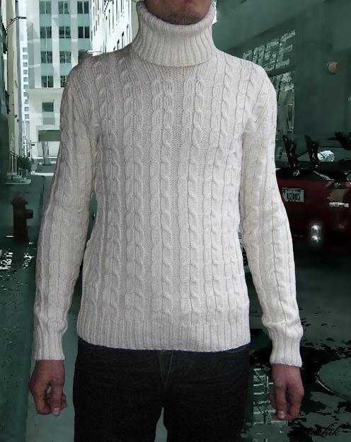 схема вязания мужского свитера модного. модные свитера как вязать.
